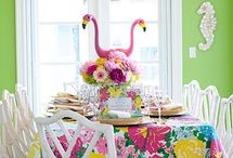 Lilly Pulitzer Party Theme