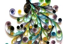 Paper quilling / by Sunitha nair