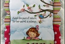 Sassy Cheryl cards I {heart}