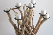 Cool driftwood art / Creative use of driftwood