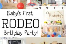 Baby's First Rodeo Birthday Party