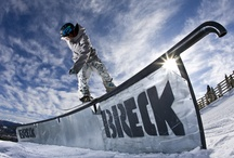 Snowboarding at Breck / The first resort in Colorado to welcome snowboarders in 1986, Breckenridge is home to some of the best snowboarders and snowboarding terrain in the country. See why with a few of our favorite shots.