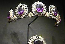 Tiary angielskie - Londonery amethyst tiara
