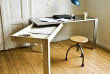 Foldable furniture / Saving space, better use of one area