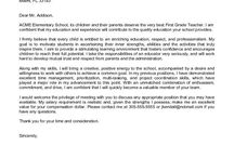 Example cover letters