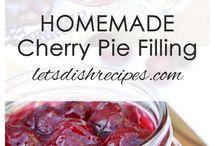 Pie fillings
