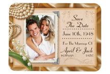 Save The Date Cards / Vintage style Save The Date Cards from The Vintage Wedding Invitation Collections