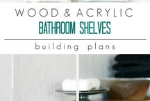 Bathroom Inspiration / bathroom organization | storage | inspiration