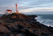 Lighthouse Road Trip / For centuries Nova Scotia's lighthouses helped protect seafaring visitors and our own hard working people who looked to the sea for their living. Standing proudly against the elements, they embody the province's maritime history and spirit.   / by Nova Scotia Tourism