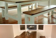 DIY tables and benches