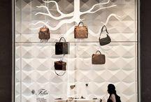 Felisi Shop Window at la Rinascente in Milan