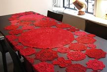 Crochet Table Cloth and Doilies / Table Cloths and Doilies / by Crafty Creations