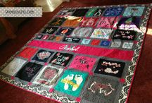 T-shirt quilt ideas / by Sue Kauffman