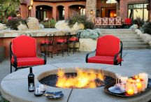 Outdoor fire pit / Fire pit