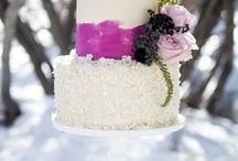 Wedding Cakes and Color / Find Natural Food Coloring at colorkitchenfoods.com