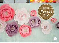 DIY - Flower craft and garlands