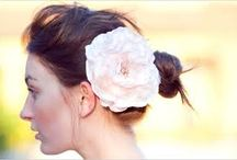 Bridal Hair Pieces / Flowers, Feathers, Jewels, Tiaras, All things beautiful for a bride on her wedding day / by MeiLi Autumn Beauty