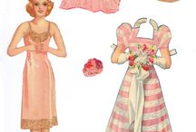 Crafts:  Paper Dolls / by Joan Nicholes