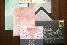 Wedding Inspiration - Invitation cards