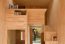 Small Rooms & Micro Architecture / Solutions for small places, Weekend-hideouts etc.