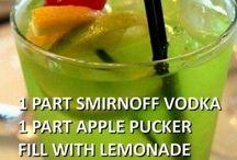 Yummy drink possibilities