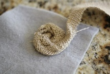 Burlap Beautiful / Shabby Chic Burlap Fun! Wreaths, Rossettes, Mason Jar Décor, Picture Frames, Place Mats, Pillow Case, Table Runner & more!!   / by Dahna Belle Knox