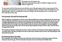 How to Wear and Care for a Communion Veil