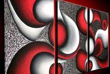 Tripticos abstractos