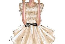 Sketch etch / Fashion sketches