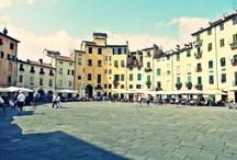 Lucca / Malebné opevněné městečko v Toskánsku. Vlakem z Pisy sem dojedete do 40 minut, návštěvu rozhodně doporučuji.