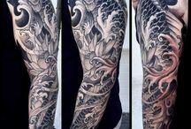 Tatuagem de onda