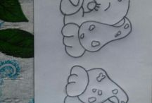 dibujos de labores
