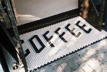 Coffee mosaic