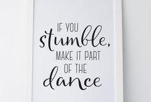Dance citater
