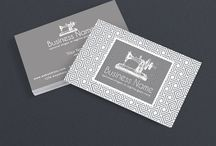 Sewing Themed Business Cards / Pretty sewing themed business card designs perfect for handmade artisans, including Etsy sellers. These are printable designs that are available on RhondaJaiDesigns.com. Get 10% Off with discount code PINTEREST10