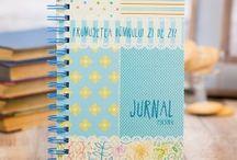 Colourful journals / Jurnale pline de culoare si cu modele jucause in care poti sa iti scrii zilnic gandurile si trairile sau pe care le poti face cadou celor dragi.