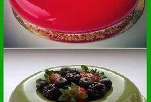 Cubiertas efecto espejo para tartas