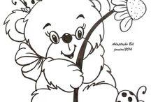 Animais - Ursos - Ursinhos - Ursões - Pandas