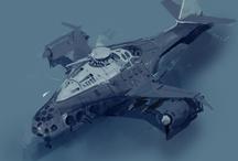 좋아하는 디자인 - 항공기 - SF 판타지