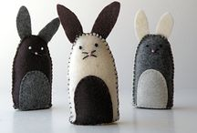The Rabbit Visits - Easter / Easter ideas / by Dannielle Cresp