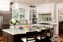 Shades of Green for your Home / Home remodeling and design ideas featuring the color green.