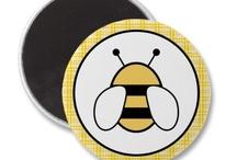 bee drawings