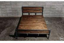 postel z litinových trubek
