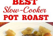 Slow Cooker, CrockPot and Instand Pot Recipes
