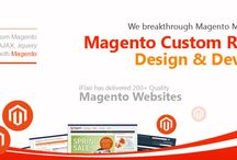magento / Magento is a professional and rich open source platform that allows the individuals to customize their website as per the requirements of their business. Its use to develop e-commerce CMS. At EITS, we are implementing latest and effective e-Commerce features in magento customization. Our expert magento developers help you to provide complete solutions