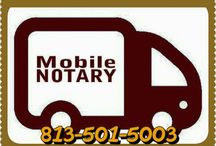 Mobile Notary Service / we offer mobile Notary services in the Tampa Bay area