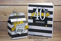 Gift Packaging Ideas / Handmade paper craft projects featuring various ideas for Gift Packaging using Stampin' Up! products.  Gift Card Holders, Wrapping, Tags, Boxes and More