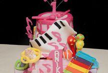 Music / cakes & cookies ideas