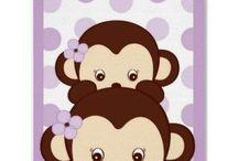 Nursery - Monkey theme