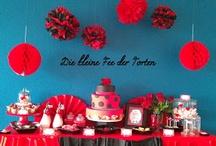 Flamenco Candy Table